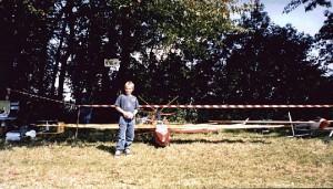 1998 - Ein Modell - fast zum Reinsetzen. Erbauer und Konstrukteur - Helmut