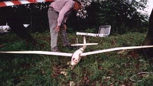 1998 - Modell der berühmten Minimoa. Erbauer des Modells - Franz Ernst