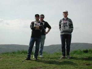 2001 - Donaupokal - 2.Tag Die Piloten Arthur, Franz und Erich.