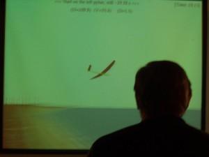 2002 - 1.Virtueller F3F-Wettbewerb > Heinz Musich beim Steuern