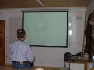 2002 - 1.Virtueller F3F-Wettbewerb > Wolfgang Michl beim Bewerb.