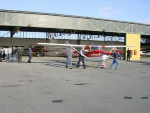 2002 - 1.Virtueller F3F-Wettbewerb > Wer sein Flugzeug liebt, der schiebt!