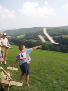 2002 - Schülerwettbewerb. Johannes der den 2.Platz belegte.
