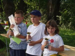 2002 - Schülerwettbewerb. Die drei Besten.