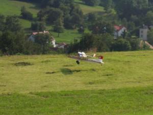 2002 - Schaufliegen des MFK > Huckepack beim Start.