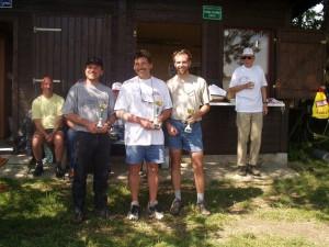 2002 - Ziellandewettbewerb des MFK-Breitenfurt. Die drei Besten