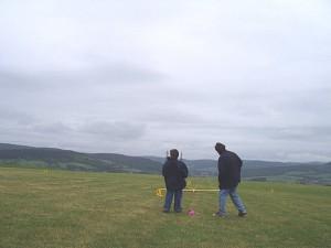 2002 - Landewettbewerb in Sieghartskirchen - Patrick landet sein Modell