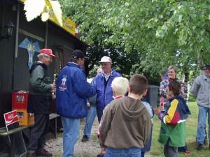 2002 - Landewettbewerb in Sieghartskirchen - Siegerehrung 3.Platz - Robert Dürrmoser