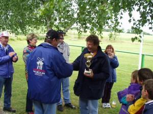 2002 - Landewettbewerb in Sieghartskirchen - Siegerehrung 1.Platz - Robert Piss