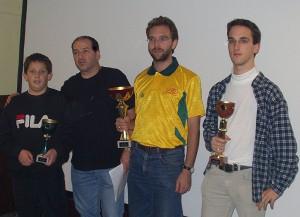 2003 - Virtueller Hangflugbewerb des MFK-Breitenfurt. Die Sieger