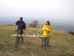 2003 - LM-NÖ am Braunsberg. Spannung vor der Pokalvergabe.