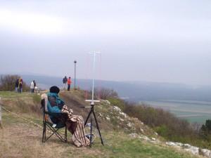 2003 - LM-NÖ am Braunsberg. Auch hier sieht man die Kälte förmlich.