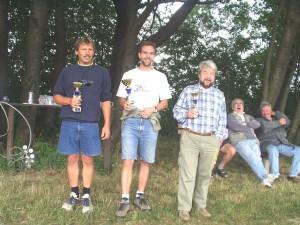 2003 - Ziellanden MFK-Breitenfurt - Die strahlenden Sieger des 2.Klubcup's.