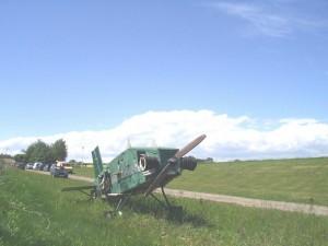 2003 - Sieghartskirchen - War das auch einmal ein Flugzeug?
