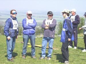 2003 - Donaupokal - Ein Teil der MFK-Crew.