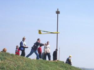 2003 - Donaupokal - Ein Skorpion wird gestartet.