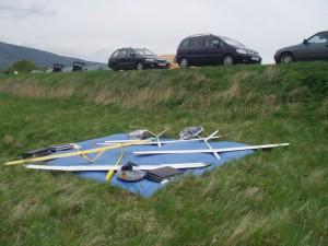 2003 - Donaupokal - Die Modelle warten auf den Einsatz.