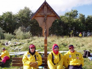 2004 - Viking Race 2004 auf Rügen. Die Österreicher (Arthur rechts)