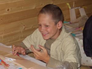 2004 - Basteln mit den Schülern > Zweiter Tag