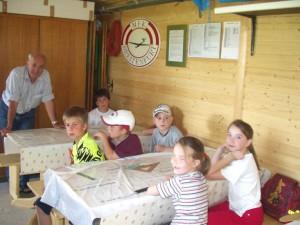 2004 - Basteln mit den Schülern > Eröffnungsgespräch