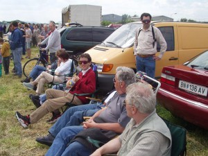 2004 - Flugtag Rakvice. Die MFK-Breitenfurter Crew.