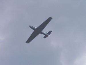 2004 - Flugtag Rakvice. Überflug des großen Bruders.