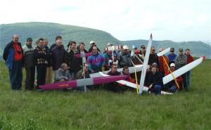2004 - Pilotenfoto am Braunsberg - Donaupokal 2004. (Leider wurde später abgesagt)