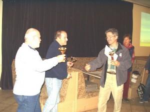 2005 - F3F Virtueller Bewerb in Záhorská Ves. Die drei Besten.