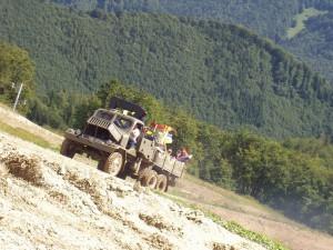 2005 - F3F Donovaly 2005 - Abenteuerliche Auffahrt.