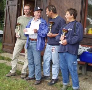 2005 - Landewettbewerb - Die Ersten mit lachenden Obmann Robert.