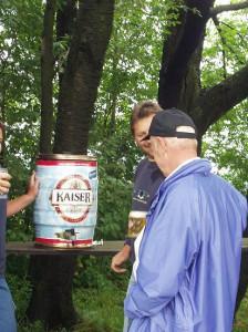 2005 - Landewettbewerb - Bieranstich