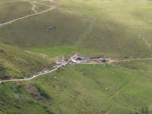 2005 - F3F Wöllaner Nock > Blick auf die Walder Hütte.