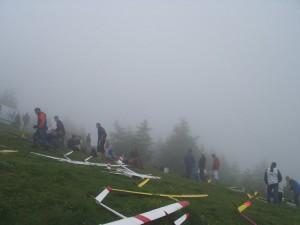 2006.06.24 - F3F Staatsmeisterschaft Wöllaner Nock - Warten auf Sicht.
