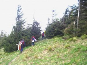 2006.05.27 - F3F in der Slowakei (Donovaly) - Anmarsch