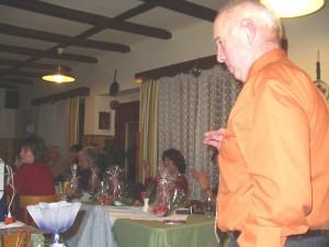2007.12.01 - Jahresabschlussfeier - Ansprache des Obmann R. Dürrmoser