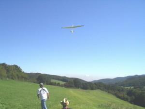2007.09.29 - 3. Klubcup (Zeitfliegen) - Windenstart