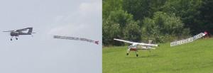 2007.08.19 - Flugtag - Bannerflug