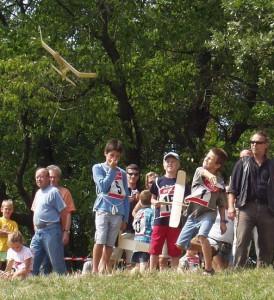 2007.08.19 - Flugtag - Bernhard beim Starten