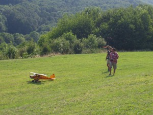 2007.08.19 - Flugtag - Start mit Paragleiter
