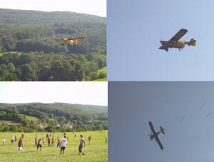 2007.08.19 - Flugtag - Zuckerlabwurf