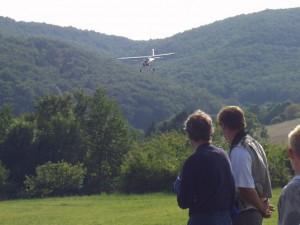 2007.08.19 - Flugtag - Landeanflug