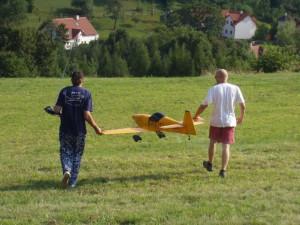 2007.08.19 - Flugtag - Startvorbereitung