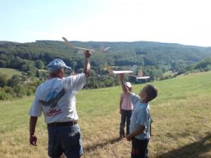 2007.08.01 - 4. Tag Erste Wurfversuche