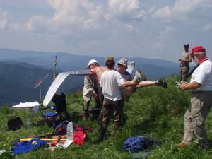 2007.06.10 - Donovaly Startversuch von Ikarus - oder war's doch Frantisek Ruisl?