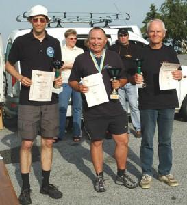 2007.05.20 - NÖ-LM Die Sieger (Gesamt und NÖ-LM) Martin Pirker (2.), Peter Hoffmann (1.), Erich Kopecny (3.)