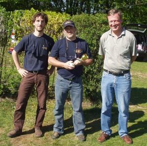 2007.05.20 - NÖ-LM Die Sieger (Gästeklasse) Frantischek Ruisl (3.), Lukas Gaubatz (1.), Rudolf Masny (2.)