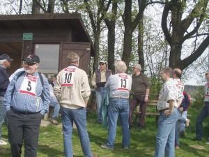 1. Klubcup F3F - Pilotenbespechung am Südhang