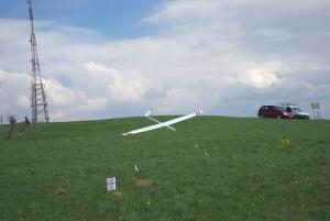 1. Klubcup F3F - Landeanflug