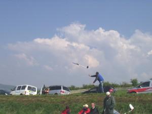 Donaupokal 2008 - Start von Arthurs Skorpion