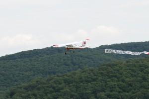 Flugtag 2008 - Bannerschlepp